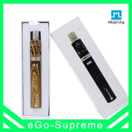 2017 start kit ego Ego Kits eGo-supreme Starter Kit 3.0ML Contrôleur de flux d'air Atomizer 2200mah Batterie DIY Ego-T Start Kit start kit ego promotion