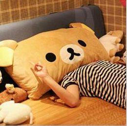 2016 Hot Saleplush toys Rilakkuma plush toys pillow plush pillow single style and couple style factory supply