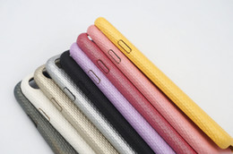 Super thin soft shell for Iphone 6 7 plus wholesale square leather phone case for Iphone