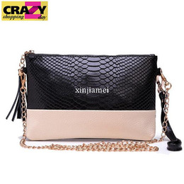 Women Messenger Bags Crocodile Small Interior Zipper Pocket Shoulder Fashion Leather Bag Woman Wallets 5 Color Women Cluch