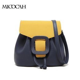 Women patchwork shoulder bags PU Leather Drawstring Bags Handbags Women Famous Brands GN40018