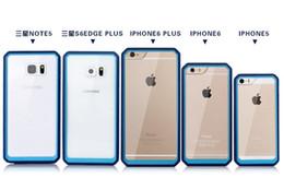 Supcase Unicorn Beetle hybride pare-chocs Transparent clair cristal TPU PC couverture cas pour iPhone 6 6S Plus 5S S6 bord Plus note 5 cas à partir de pare-chocs 5s transparent fabricateur