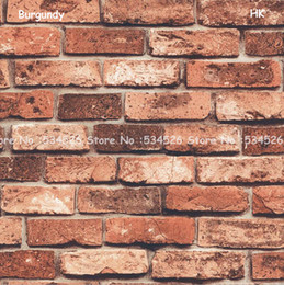 Wholesale 5Colors brick wallpaper roll papel de parede para quarto d room wallpaper tapete Pattern Damask wall paper Wallcoverings