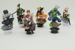 Wholesale 6Pcs set PVC Naruto Chess Piece Garage Kits Action Figure Model Action Figures Classic toys baby toys Best gift for Children