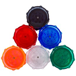 PLASTIC GRINDER, GRINDERS, GRINDER WITH MAGNET, 2 LAYERS PARTS, BLACK RED BLUE GREEN & MANY COLORS AVAILABLE FREE SHIPPING