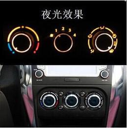 Wholesale Car AC Knob Air Conditioning heat control Switch knob Aluminum alloy accessory suitable for Suzuki Swift SX4 new ALTO QT34