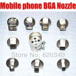 Wholesale BGA Hot Air Heat Gun D Series Universal Mobile Phone Chip BGA Nozzle order lt no track