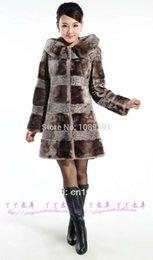 Wholesale Femal Australian import sheepskin coat Sheepskin medium long overcoat female fur outerwear