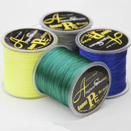 Super Strong PE Braided Fishing Line 500M Japanese Multifilament Braid line 10 20 30 40 60 80 100LB