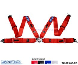 Wholesale TANSKY quot SP STRAP RED JDM POINT PT CAMLOCK RACING HARNESS SEAT BELT Default color is RED TK SP3I4P RD