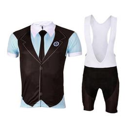 Wholesale Super Sale Gentlemen Fashion Short Sleeved Jerseys Bib shorts sets Cycling Bicycle Racing Clothing Suits