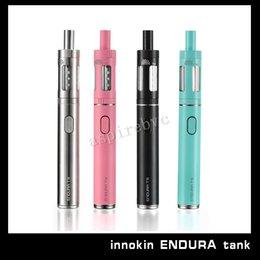 Wholesale 100 Authentic Innokin Endura T18 kit mah available in Stainless steel Aquamarine vs Kanger Subvod Kit DHL UPS FEDEX