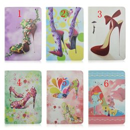 Wholesale 2015 New High Heeled Shoes Style Magnetic Leather Smart Case Cover For Ipad For Ipad Air for ipad air iapd6 For Ipad Mini Mini
