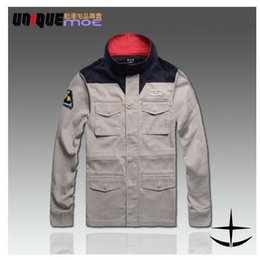 Wholesale Fall Hot Sale Limited Freeshipping Regular Clothing Japan Anime Costume Mobile Suit Gundam Cosplay Military Uniform Men Jacket