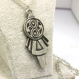 Dr Who TARDIS Key necklace Doctor Who necklace Doctor Who prop TARDIS keys 12PCS Free Shipping