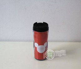 Wholesale customized advertising cup red without peculiar smell food grade PP manufacturer provides straightly