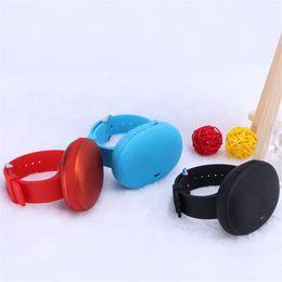 T1 Smart Watch Speaker Portable Bluetooth Wireless Speakers With HIFI Loud Speaker Support TF Card FM Handfree