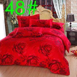Wholesale 011048 NO Home textile Sheet set Flat sheet Fitted sheet pillowcase roupa jogo de cama bed linen bedclothes bedding set bedsheet bed