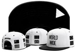 Free Shipping New Design Snapback white black WORLD WIDE Cayler & Sons Snapbacks Snap back Baseball Sports Caps Adjustable TYMY 423