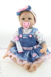2016 NPK Doll Factory sale Free shipping very soft 22inch reborn baby doll lifelike soft silicone vinyl real gentle touch