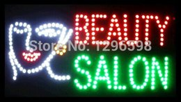 Wholesale Special Offer Hot Sale Graphics mm indoor Ultra Bright X19 Inch BEAUTY SALON Business Shop sign of led