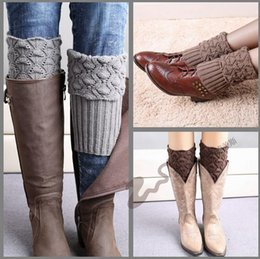 Crochet Boot Cuff New Hot Knitted Boot Cuff fashion Lady Crochet Boot Cuff Fashion Warm knitted leg warmers