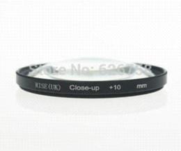 Cerca filtros en Línea-RISE (UK) 52mm Macro Close-Up +10 Close Up filtro para todas las cámaras digitales DSLR 52MM lente envío gratis