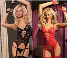 Wholesale Sexy Cheap Women Nighties - Women sexy lingerie hot lingerie fashion women nightwear female hot lingerie eveningwear cheap Dress 4 colors nightie HS1102