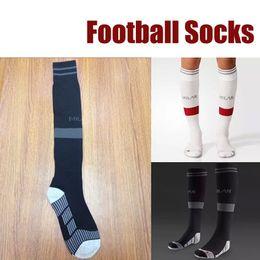 Wholesale Stocking Football Socks - 2015 16 New Season AC Milan socks Top Quality 2016 New Season AC Milan Soccer Socks football stocking with free shipping