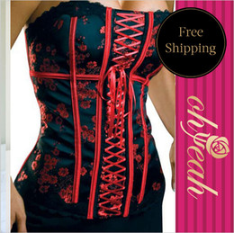 Wholesale Best Charming Brocade Pattern corset plus size newest arrival weight loss corset hot sale waist trainer corset