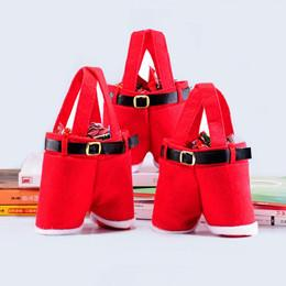 Wholesale Christmas Gifts For Foreign Trade Christmas Bag Red Christmas Wedding Candy Bag Support Customized Christmas Products
