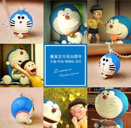 Wholesale Doraemon Machine Cat Cute cartoon jingle Cat Pendant Couple with Necklace Cartoon Fashion Lovely Memory DHL Free