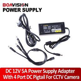 Wholesale CCTV Camera port Power Supply V A use for cameras CCTV camera adaptor AC100 V