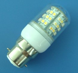 B22 48-1210 SMD LED White bulb light 220~240V With transparent cover