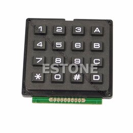 Wholesale New x4 Matrix Keyboard Keypad Use Key AVR PIC Stamp Sml order lt no track