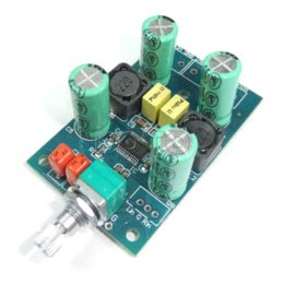 Wholesale Mini Power Amp Module TPA3123 Power Amplifiers Volume Control Module Class D W x DC V Power Supply Amp Board