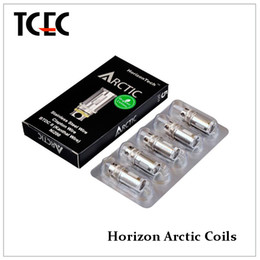 Wholesale 100 Original Horizon Arctic Ni200 Coil pure nickel coil arctic BTDC replacement coils for sub ohm tank arctic tank in stock