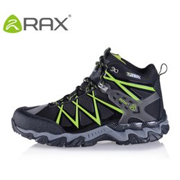 Wholesale RAX Man Waterproof hiking shoes breathable lightweight antiskid outdoor shoes