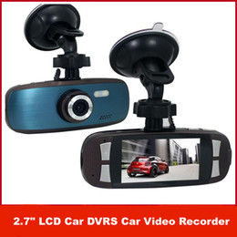 Wholesale NEW G1W GS108 with Novatek Car Video Recorder WDR Technology AVC P FPS G Sensor quot LCD Car dvr