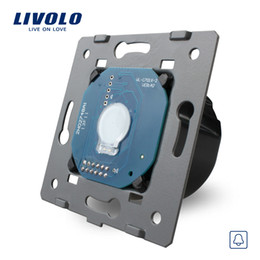 Wholesale-Livolo Manufacturer EU Standard,110~250V The Base Of Touch Screen Wall Door Bell Switch, VL-C701B