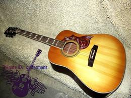 Wholesale Guitar Factory Newest Lemon Burst One piece neck Acoustic Guitar