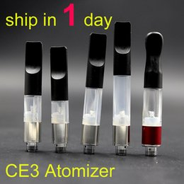 Wholesale BUD Touch Vaporizer WAX CBD Hemp Oil Atomizer Cartridge O Pen CE3 ml vapor thick Waxy Smoking Mini Tank DHL at068