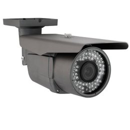 Wholesale Cctv Lens Mm - Security Surveillance Video 1200TVL HAD Color CCD CCTV Outdoor Security Camera, 2.8-12 mm Varifocal Manual Zoom Lens Long IR Distance IR-CUT