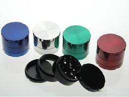 herb grinder smoking grinder size CNC grinder metal cnc teeth tobacco grinder 50mm 4 parts mix designs