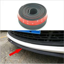 Wholesale Bumper Lip Deflector Lips Skirt For Car Front Rear All Sides Spoiler Lip Spliter Valance For Car Tuning Change Body Kit Wing