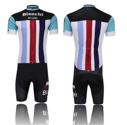 Wholesale NEWEST BIANCHI cycling jersey cycling clothing cycling wearing bicycle clothing Bib shorts set men breathable quick dry Summer S XL
