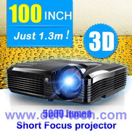 Wholesale Lumen short throw DLP Projector for DEFI interactive floor system make much larger projection size