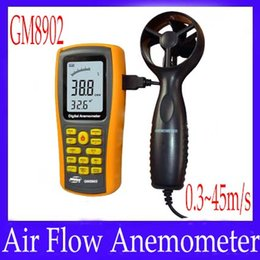 Wholesale Air Flow Anemometer GM8902 measure range m s
