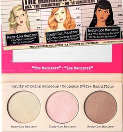 Wholesale New Arrivals hot the Manizer Sisters color Bronzers Highlighters palette Pieces