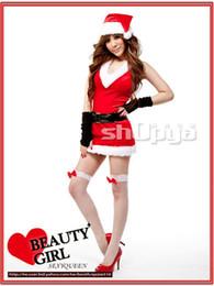 Les femmes pirates ceintures à vendre-Livraison gratuite 2014 Uniformes New Arrival Sexy Adult Red Pirate Femmes de Noël Costumes (robe + ceinture + Hat) Costume Ennanna X1176